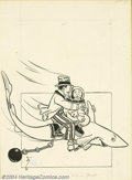 Original Illustration Art:Mainstream Illustration, W. W. Denslow (1856-1915) Original Illustration (1904).. Bookillustration for The Pearl and the Pumpkin, by Paul West a...