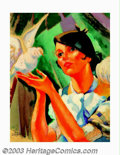 Original Illustration Art:Mainstream Illustration, Peter Driben (1903-1968) Original Illustration (1925-1930). Paintedby Driben when he was living in Paris, this image was mo...