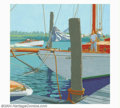 Original Illustration Art:Mainstream Illustration, Walter Martin - Original Magazine Cover Art (c.1933). A skillfulillustrator, Walter Martin created this detailed boating su...