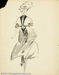 Original Illustration Art:Mainstream Illustration, Charles Gates Sheldon (1889-1960) Original Illustration (c.1900)..Pen and ink on paper, image size approximately 14 x 11. S...