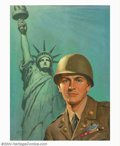 Original Illustration Art:Mainstream Illustration, Lawrence Wilbur - Original Illustration (c.1943). A skillfulillustrator, Wilbur's work was published as magazine covers, ad...