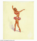 Original Illustration Art:Pin-up and Glamour Art, Ted Withers - Original Pin-up Art (1950-1960).. Published by theBrown & Bigelow Calendar Company, St. Paul, Minnesota.. Oil...