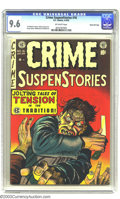 Golden Age (1938-1955):Crime, Crime SuspenStories #16 Gaines File pedigree 2/12 (EC, 1953). CGC NM+ 9.6 Off-white pages. Johnny Craig's utterly eye-poppin...