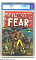 Golden Age (1938-1955):Horror, The Haunt of Fear #10 Gaines File pedigree 2/12 (EC, 1951) CGC NM+9.6 Off-white to white pages. Al Feldstein created the br...