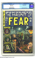Golden Age (1938-1955):Horror, The Haunt of Fear #12 Gaines File pedigree 1/12 (EC, 1952) CGC NM+9.6 Off-white to white pages. Beginning with the previous...