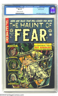 Golden Age (1938-1955):Horror, The Haunt of Fear #16 Gaines File pedigree 1/11 (EC, 1952) CGC NM9.4 Off-white to white pages. EC adapted many of famed aut...