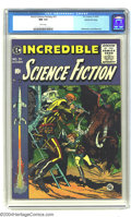 Golden Age (1938-1955):Science Fiction, Incredible Science Fiction #31 Gaines File pedigree 9/12 (EC, 1955)CGC NM 9.4 White pages. Featuring a cover by Jack Davis,...