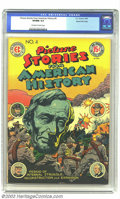 Golden Age (1938-1955):Non-Fiction, Picture Stories From American History #4 Gaines File pedigree 7/10(EC, 1947). CGC VF/NM 9.0 Off-white to white pages. Hones...
