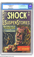Golden Age (1938-1955):Horror, Shock SuspenStories #7 Crowley pedigree - Double cover (EC, 1953)CGC VF/NM 9.0 Cream to off-white pages. This comic is quit...
