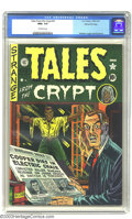 Golden Age (1938-1955):Horror, Tales From the Crypt #21 Gaines File pedigree 1/10 (EC, 1951) CGCNM+ 9.6 Off-white pages. The second issue of this title sp...