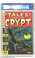Golden Age (1938-1955):Horror, Tales From the Crypt #22 Gaines File pedigree 1/10 (EC, 1951) CGCNM+ 9.6 Off-white to white pages. Through a latter day rev...