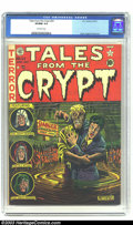 Golden Age (1938-1955):Horror, Tales From the Crypt #24 (EC, 1951) CGC VF/NM 9.0 Off-white pages.Perhaps more than any other pre-Code horror titles, EC co...