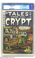 Golden Age (1938-1955):Horror, Tales From the Crypt #25 Gaines File pedigree 1/12 (EC, 1951) CGCNM/MT 9.8 Off-white pages. Even among the superb Gaines Fi...