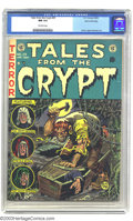 Golden Age (1938-1955):Horror, Tales From the Crypt #29 Gaines File pedigree 1/12 (EC, 1952) CGCNM 9.4 Off-white pages. Jack Davis' covers invoked a uniqu...