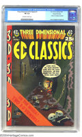 Golden Age (1938-1955):Horror, Three Dimensional EC Classics #1 Gaines File pedigree 7/12 (EC,1954) CGC FN 6.0 Off-white to white pages. This 3-D EC comic...