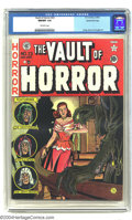 Golden Age (1938-1955):Horror, Vault of Horror #23 Gaines File pedigree 1/12 (EC, 1952) CGC NM/MT9.8 Off-white pages. Johnny Craig again lends his talents...