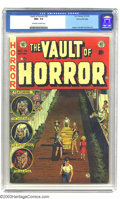 Golden Age (1938-1955):Horror, Vault of Horror #33 Gaines File pedigree 1/11 (EC, 1953) CGC NM+9.6 Off-white to white pages. Johnny Craig created every si...