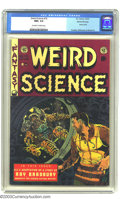 Golden Age (1938-1955):Science Fiction, Weird Science #19 Gaines File pedigree 2/10 (EC, 1953) CGC NM+ 9.6Off-white to white pages. Only one other copy of issue #1...