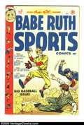 Golden Age (1938-1955):Miscellaneous, Babe Ruth Sports Comics #2 File Copy (Harvey, 1949) Condition: VF-. The Bambino himself brings you this comic book loaded wi...