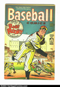 Golden Age (1938-1955):Miscellaneous, Baseball Comics #1 (Will Eisner Productions, 1949) Condition:Apparent VF tape on inside spine. Will Eisner brings his disti...