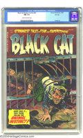 Golden Age (1938-1955):Horror, Black Cat Mystery #52 File Copy (Harvey, 1954) CGC NM 9.4 Cream tooff-white pages. A nice sharp book as you would expect fr...