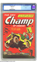 Golden Age (1938-1955):War, Champ Comics #25 (Harvey, 1943) CGC VF+ 8.5 Off-white pages. Thefinal issue of the run that started as Champion Comics ...