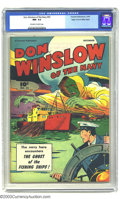 Golden Age (1938-1955):Adventure, Don Winslow #52 Mile High pedigree (Fawcett, 1947) CGC NM- 9.2 Off-white to white pages. No disrespect intended to Officer D...