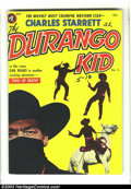"Golden Age (1938-1955):Western, The Durango Kid #5 (Magazine Enterprises, 1950) Condition: FN/VF. Frank Frazetta's great outdoor feature ""Dan Brand and Tipi..."