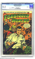 Golden Age (1938-1955):Horror, Forbidden Worlds #17 Bethlehem pedigree (ACG, 1953) CGC VF+ 8.5Off-white to white pages. Don't turn your back on your Werew...