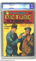 Platinum Age (1897-1937):Miscellaneous, Funny Picture Stories #2 Lost Valley pedigree (Comics Magazine,1936) CGC FN/VF 7.0 Off-white pages. A very seldom-seen comi...