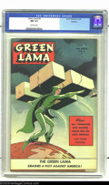 Golden Age (1938-1955):Science Fiction, Green Lama #6 Rockford pedigree (Spark Publications, 1945) CGC NM9.4 Off-white pages. Dramatic, powerful and direct -- a gr...