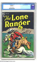 Golden Age (1938-1955):Western, The Lone Ranger #3 (Dell, 1948) CGC NM 9.4 Cream to off-whitepages. This is a knockout copy of an issue CGC has certified o...