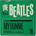 """Music Memorabilia:Recordings, Beatles 45 Group of Two (MGM 13213, 1964). Two copies of """"MyBonnie""""/""""The Saints"""" (MGM 13213, 1964), one with picture sleeve...(Total: 2 Items)"""