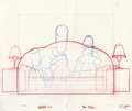 "Animation Art:Production Drawing, ""The Simpsons"" - Bart, Homer, Lisa, Marge, and Maggie SimpsonAnimation Drawing Original Art, Group of 5 (Fox, 1999).... (Total:5)"