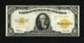 Large Size:Gold Certificates, Fr. 1173 $10 1922 Gold Certificate Fine-Very Fine. The edges are wholesome and the color nice for this $10 Gold....
