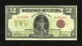 Canadian Currency: , DC-26e $2 1923 Fine-Very Fine. This example shows even circulation....