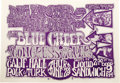 Music Memorabilia:Posters, Big Brother and the Holding Company/Blue Cheer California Hall Concert Poster (Albatross Productions, 1967). A groovy letter...