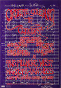 Music Memorabilia:Posters, Ornette Coleman Fillmore West Concert Poster (1967). Jazz fans, wehaven't forgotten you here in the poster section! The Fre...