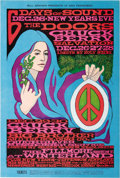 Music Memorabilia:Posters, Doors/Chuck Berry/Big Brother and the Holding CompanyFillmore/Winterland Concert Poster, BG-99 (Bill Graham, 1967).Artist ...
