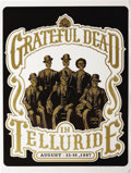 Music Memorabilia:Posters, Grateful Dead Telluride Town Park Concert Poster (1987) ArtistSteve Johannsen created this striking portrait of six well-dr...