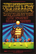 Music Memorabilia:Posters, Jimi Hendrix Experience/Buddy Miles Express Winterland ConcertPoster, BG-140 (Bill Graham, 1968). This wild 'n' colorful im...