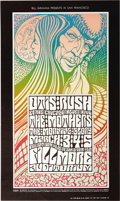 Music Memorabilia:Posters, Otis Rush/Mothers Fillmore Auditorium Concert Poster, BG-53 (BillGraham, 1967). Blues guitarist Otis Rush and his Chicago B...