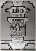 "Music Memorabilia:Posters, The Who ""Tommy Final Performance"" Metropolitan Opera House ConcertPoster (Nathan Weiss/Bill Graham, 1970) It's hard to thin..."