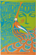 Music Memorabilia:Posters, Yardbirds/Doors Fillmore Auditorium Concert Poster, BG-75 (BillGraham, 1967). Concert goers had two great acts to choose fr...