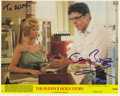 """Movie/TV Memorabilia:Autographs and Signed Items, Gary Busey Signed """"The Buddy Holly Story"""" Photo. An 8"""" x 10"""" colorpromo photo for the 1978 biopic, signed by Busey in blue ..."""
