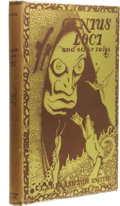 Books:First Editions, Clark Ashton Smith: Genius Loci and Other Tales. (Sauk City:Arkham House, 1948), first edition, 228 pages, jacket desig...
