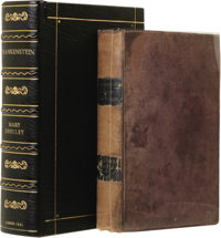 Mary Wollstonecraft Shelley: 1831 Revised Edition of Frankenstein: or, The Modern Prometheus. [Together with:] Frederi...