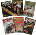 Books:Periodicals, Complete Run of 1934 Astounding Stories Pulps. This lotincludes all twelve issues, January through December, 1934, as p...(Total: 12 )
