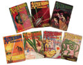 Books:Periodicals, Selection of Astounding Stories Pulps 1932-33. A selectionof 13 issues including the January through June, September, a...(Total: 13 )