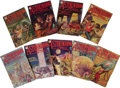 Books:Periodicals, Nine 1930 Issues of Astounding Stories PulpMagazines. (New York: Publishers' Fiscal Corporation, 1930),each measur... (Total: 9 )